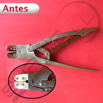 Reparación pinza para cortar clavos y alambres