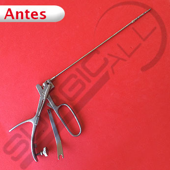 Reparación pinza biopsia uterina rectal