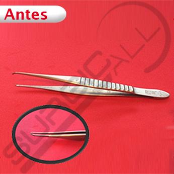 Reparación de Pinza de disección con dientes