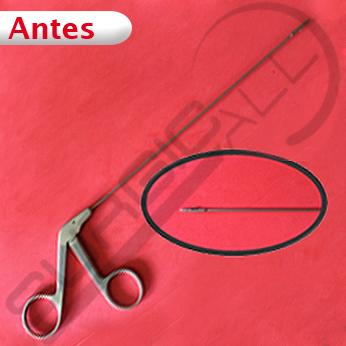 Reparación Pinza biopsia laringe