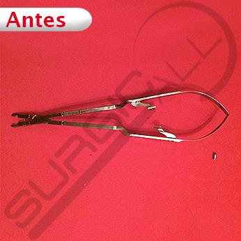 Reparación Pinza para colocar clips micrucirugía y vascular